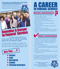 CFDA Career in Funeral Service Flyer